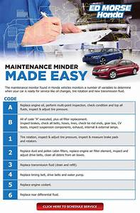 Honda Maintenance B12