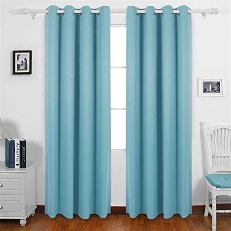 blackout curtains for sliding glass doors deconovo solid color thermal insulated blackout curtains