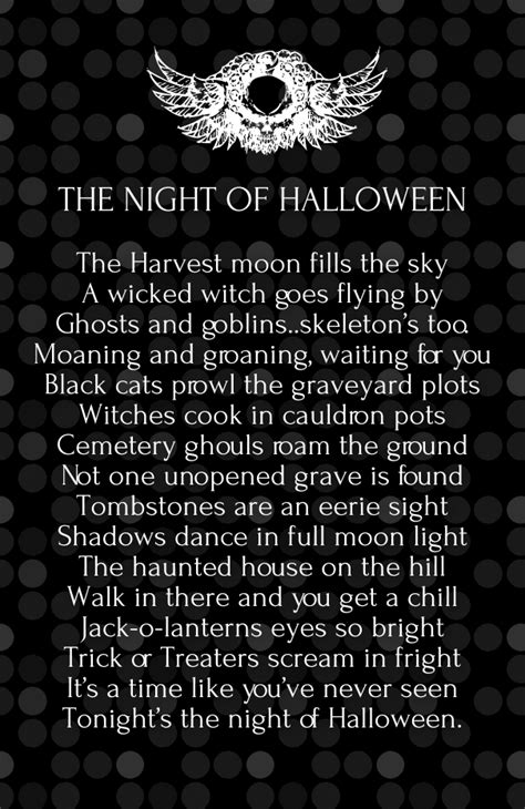 Scary Poems About Halloween by Cute Halloween 2017 Love Poems With Images Hug2love