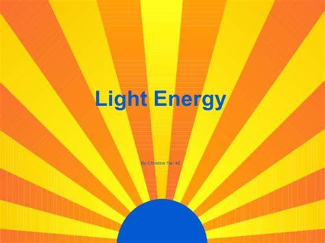 of light light energy