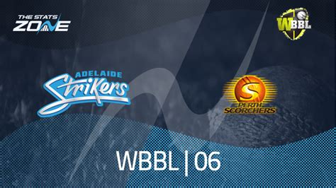 Perth scorchers took a right hammering in there recent game against adelaide dismissed for just 94 and that could happen again so it's worth looking down there batting order for some value, in top scored for perth in there first big bash game and he's got plenty of. 2020 Women's Big Bash League - Adelaide Strikers Women vs ...