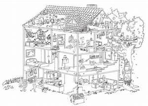 Bilder Hausbau Comic : malvorlagen haus innen my blog ~ Markanthonyermac.com Haus und Dekorationen