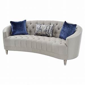 Silver sofa silver sofas couches loveseats the best deals for Sectional sofas el dorado