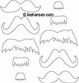 Coloring Mustaches Mustache Printable Dr Mask Templates Sheet Seuss Beard Printables Pages Template Masks Cut Costumes Leehansen Patterns Craft Pattern sketch template