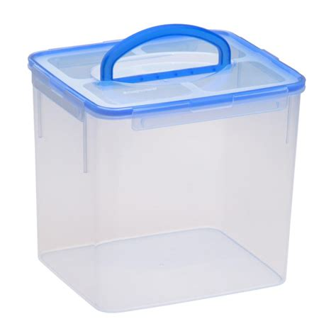 container cuisine snapware 40 cup clear airtight food storage container with