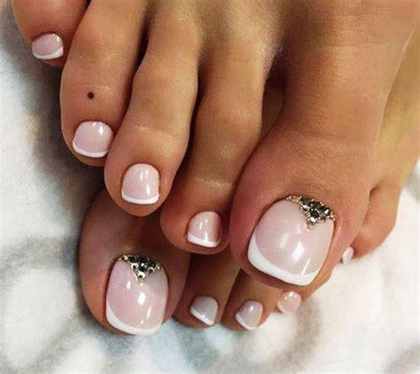 ideas  decoracion de las unas de los pies  como
