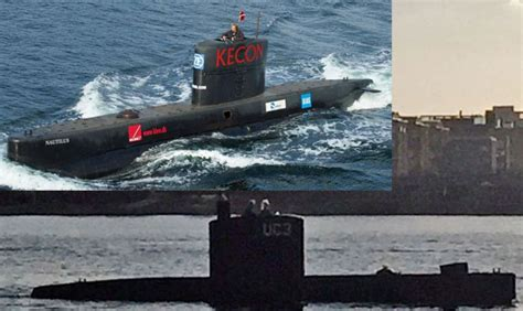 Largest In The World Private Submarine Sank In Oresund