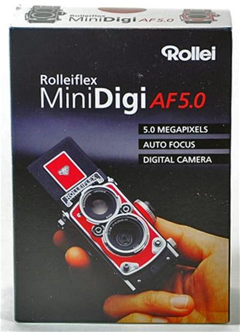 rolleiflex minidigi af  digital classic camera