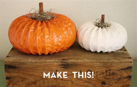 diy pumpkins make it diy dryer vent pumpkins 187 curbly diy design decor
