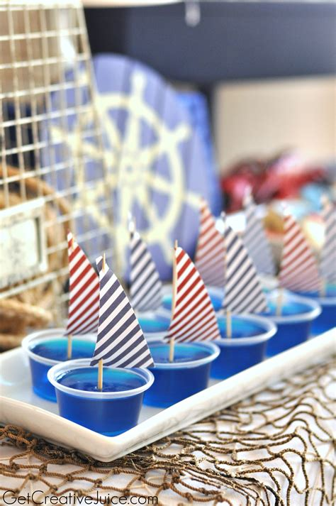 {party} Nautical Lobster Party  Creative Juice
