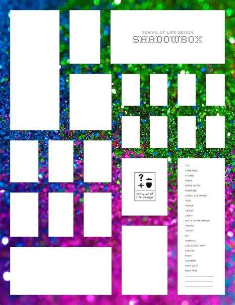 vision board template pdf free school of design