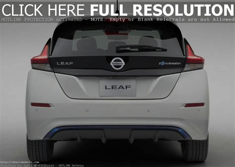 nissan leaf  trunk space auto suv