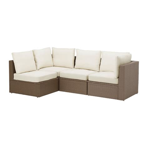 outdoor seating sectional sofa arholma 4 seat sectional outdoor ikea