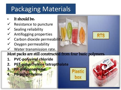 Modified Atmosphere Packaging Weight by Modified Atmosphere Packaging In Vegetables