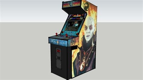 Mortal Kombat Arcade Cabinet Plans by Mortal Kombat 4 Classic Arcade Cabinets