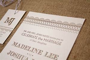madeline josh39s rustic kraft paper tennessee wedding With paper and ink wedding invitations