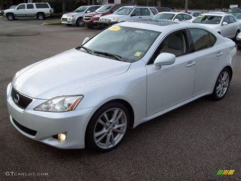 white lexus is 250 2007 starfire white pearl lexus is 250 23931554 photo 3