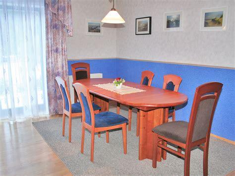 Großer Esstisch Mit Stühlen by Ferienhaus Haus Svea Prerow Firma Prerow H 228 Mer