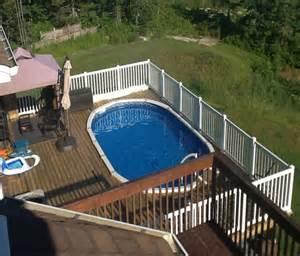 inground pool deck ideas wood deck with inground pool back yard decks pool ideas suncityvillas