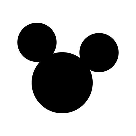 Mickey Mouse Ears Disney Graphics Design Svg By