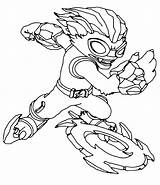 Skylanders Coloring Pages Blade Freeze Swap Force Throws Weapon Bestcoloringpagesforkids Pages2color Printable Sheets sketch template