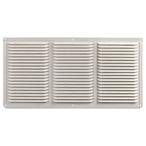 bathroom fan soffit vent home depot master flow 16 in x 8 in aluminum eave soffit vent
