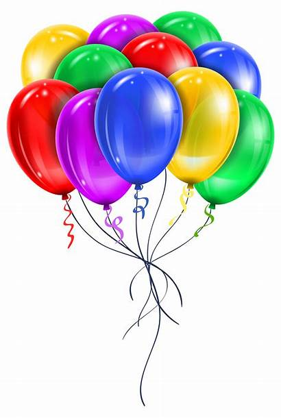 Balloons Birthday Happy Balloon Wishes Transparent Clipart