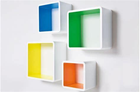 etageres murales pas cheres set de 4 233 tag 232 res etag 232 res multicolores pas ch 232 res