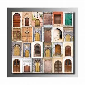 Tableau Porte Orientale : tableaux toile d co porte orientale art d co stickers ~ Teatrodelosmanantiales.com Idées de Décoration