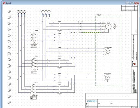 electrical schematic design software e3 schematic zuken en