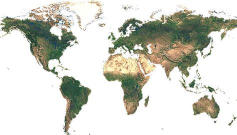 satellitenbild der erde ohne gewaesser landkarten