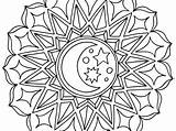 Islamic Geometric Patterns Coloring Pages Printable Getcolorings Getdrawings sketch template