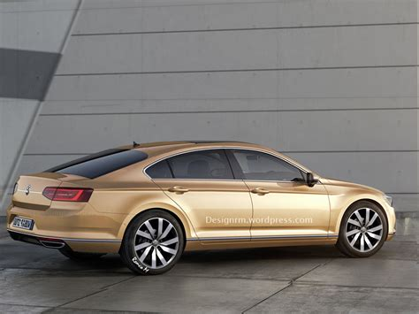 volkswagen cc rendered   door coupe perfection