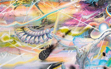 Psychedelic Extraterrestrial Landscapes Mario Martinez