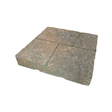 shop duncan four cobble concrete patio common 16