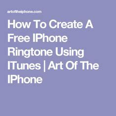 how to a ringtone on iphone knowledge is power on itunes infographic and
