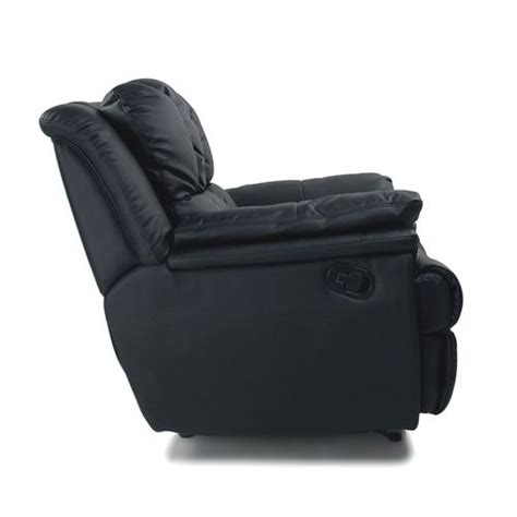 Fauteuil Relax Friends by Miliboo Fauteuil Relax Friends Noir Relaxation Nc