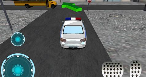 ultra  police car parking android games   android games