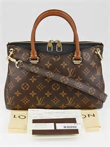 louis vuitton black monogram canvas pallas bb bag yoogi
