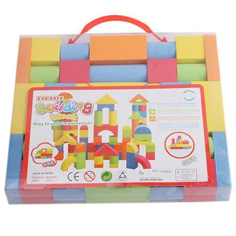 hot mixed colors eva puzzle building toy for kids children