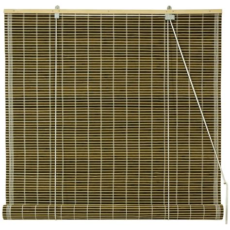 roll up bamboo blinds furniture burnt bamboo roll up blinds olive