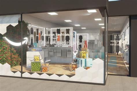amazon fashion  opening  pop  store  baker street