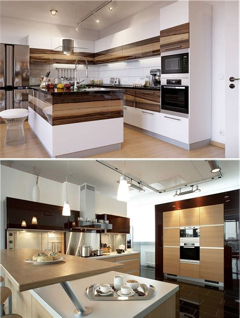 interiors of kitchen desain interior kitchen set minimalis modern untuk dapur