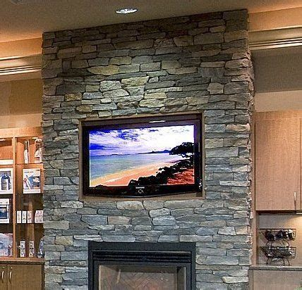 turn tv into fireplace fireplace with tv built into the fireplace wood