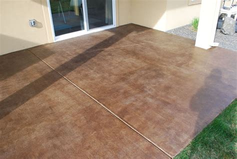 Diy Project How To Stain A Concrete Patio  The Garden Glove