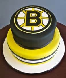 pin nhl boston bruins edible image icing cake cupcake
