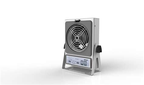 ventilador ionizante profesional flujo cruzado que