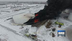 Thirty-Thousand Barrel, Diesel Fuel Tank Catches Fire In ...