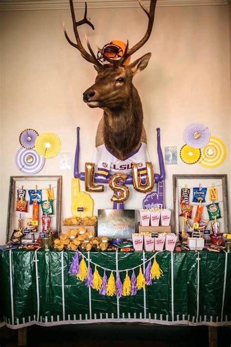 Kara's Party Ideas Lsu Football Party  Kara's Party Ideas. Living Room Furniture Springfield Mo. How To Get Free Hotel Rooms. Rugs For Dorm Rooms. Rooms To Go Daybed. Decorative Door Mats. Blue Home Decor. Decorative Things For Living Room. Dorm Room Decoration