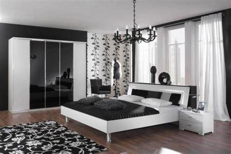 chambre a coucher noir et blanc chambre a coucher moderne noir et blanc